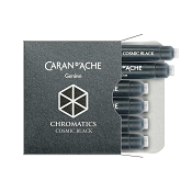 Caran d'Ache Chromatics Cosmic Black Fountain Pen Ink Cartridges