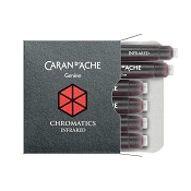 Caran d'Ache Chromatics Infra Red Fountain Pen Ink Cartridges