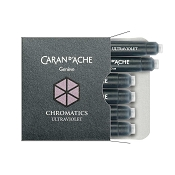 Caran d'Ache Chromatics Ultra Violet Fountain Pen Ink Cartridges
