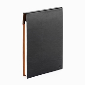 Caran d'Ache Cuir Black Leather A5 Notepad