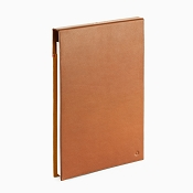 Caran d'Ache Cuir Beige Leather A5 Notepad