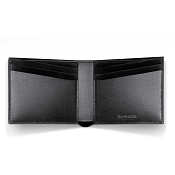Caran d'Ache - Delvaux Leather 6 Card Mens Bifold Calf Wallet