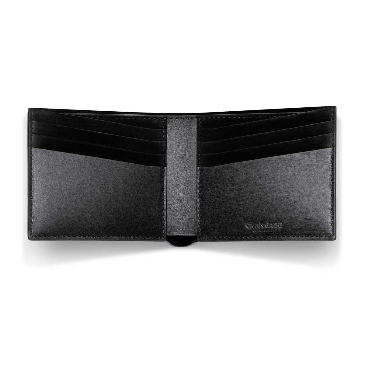 Caran d'Ache - Delvaux Leather 8 Card Mens Bifold Calf Wallet