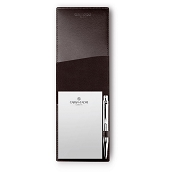 Caran d'Ache Haute Maroquinerie Ebony Leather Small Memo