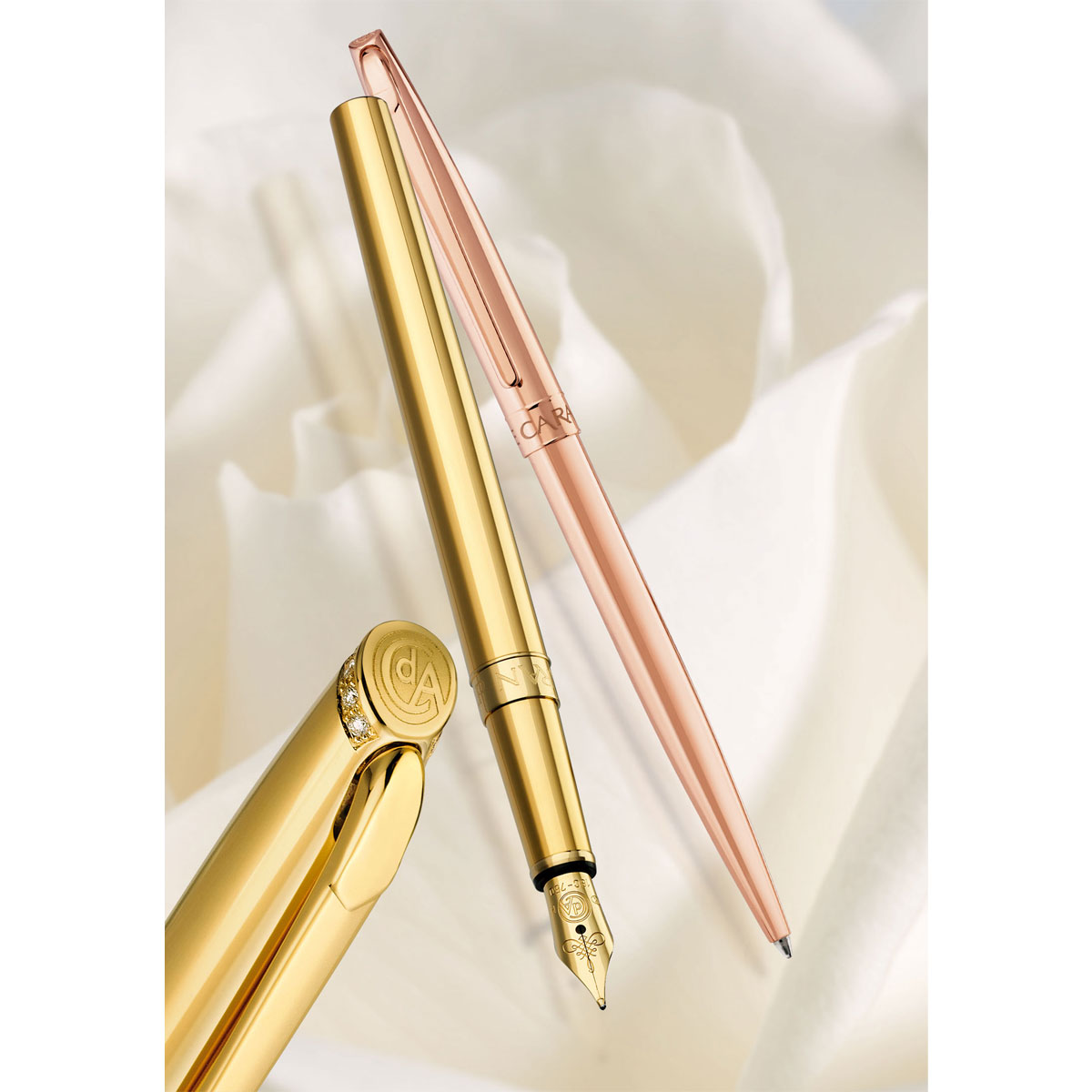 Caran d'Ache Madison 18ct Rose Gold Limited Edition Pens