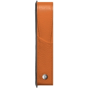 Caran d'Ache Leman Saffron Leather One Pen Case