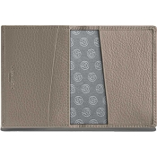 Caran d'Ache Leman Cashmere Leather Business Card Holder