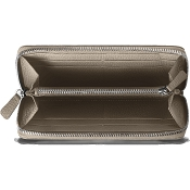 Caran d'Ache Leman Cashmere Leather Women's Zip Around Wallet