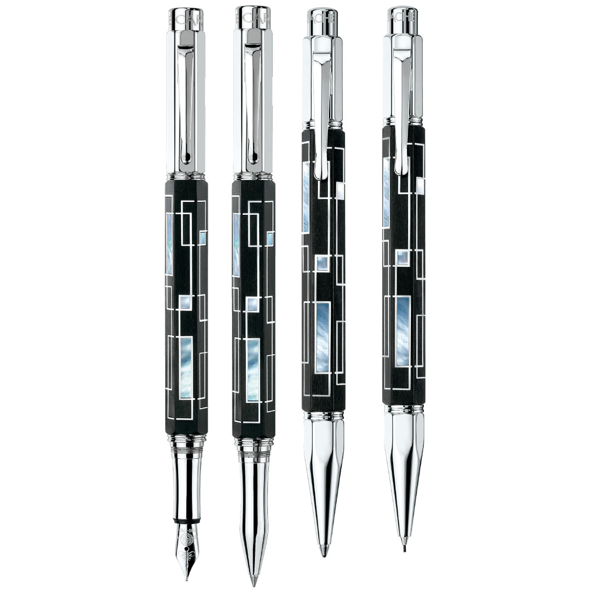 Caran d'Ache Varius Link Series 1 Gift Pen Set - Limited Edition