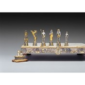 Ancient Egyptian Civilization Themed Chess Pieces | Gold & Silver