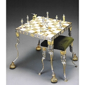 Siegfried King Of The Nibelungs Chess Set | Table and Chairs