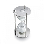 Dalvey Hourglass - Stainless Steel