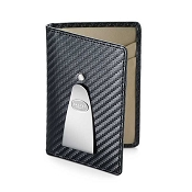 Dalvey Continental Credit Card Case & Money Clip - Black