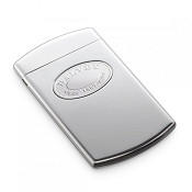 Dalvey Classic Business Card Case - Stainless Steel Detail