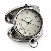Dalvey Grand Odyssey Clock - Stainless Steel