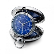 Dalvey New Voyager Clock - Blue