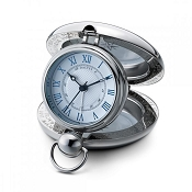 Dalvey New Voyager Clock - White