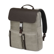 Fedon 1919 Award AW-BACKPACK Taupe/Brown Leather Bag