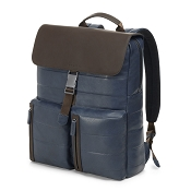 Fedon 1919 Award AW-BACKPACK Blue/Brown Leather Bag