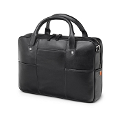 Fedon 1919 British BT-FILE Black Leather Laptop Bag