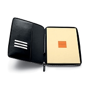 Fedon 1919 British BT-PB-A4 Black Leather Notepad