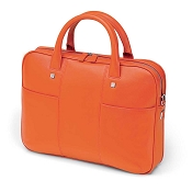 22c2b2459e32 Fedon 1919 British BT-FILE-0 Orange Leather Laptop Bag