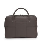 f0b43e493923 Fedon 1919 British BT-FILE Mud Brown Luxury Leather Laptop Bag