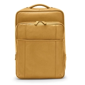 Fedon 1919 British BT-BACKPACK Yellow Leather Backpack
