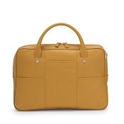 Fedon 1919 British BT-FILE Yellow Luxury Leather Laptop Bag