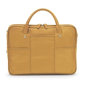 Fedon 1919 British BT-FILE-2-ZIP Yellow Leather Executive Luxury Laptop Bag
