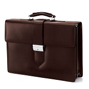 Fedon 1919 Classica CLASS-4 Leather Briefcase - Brown