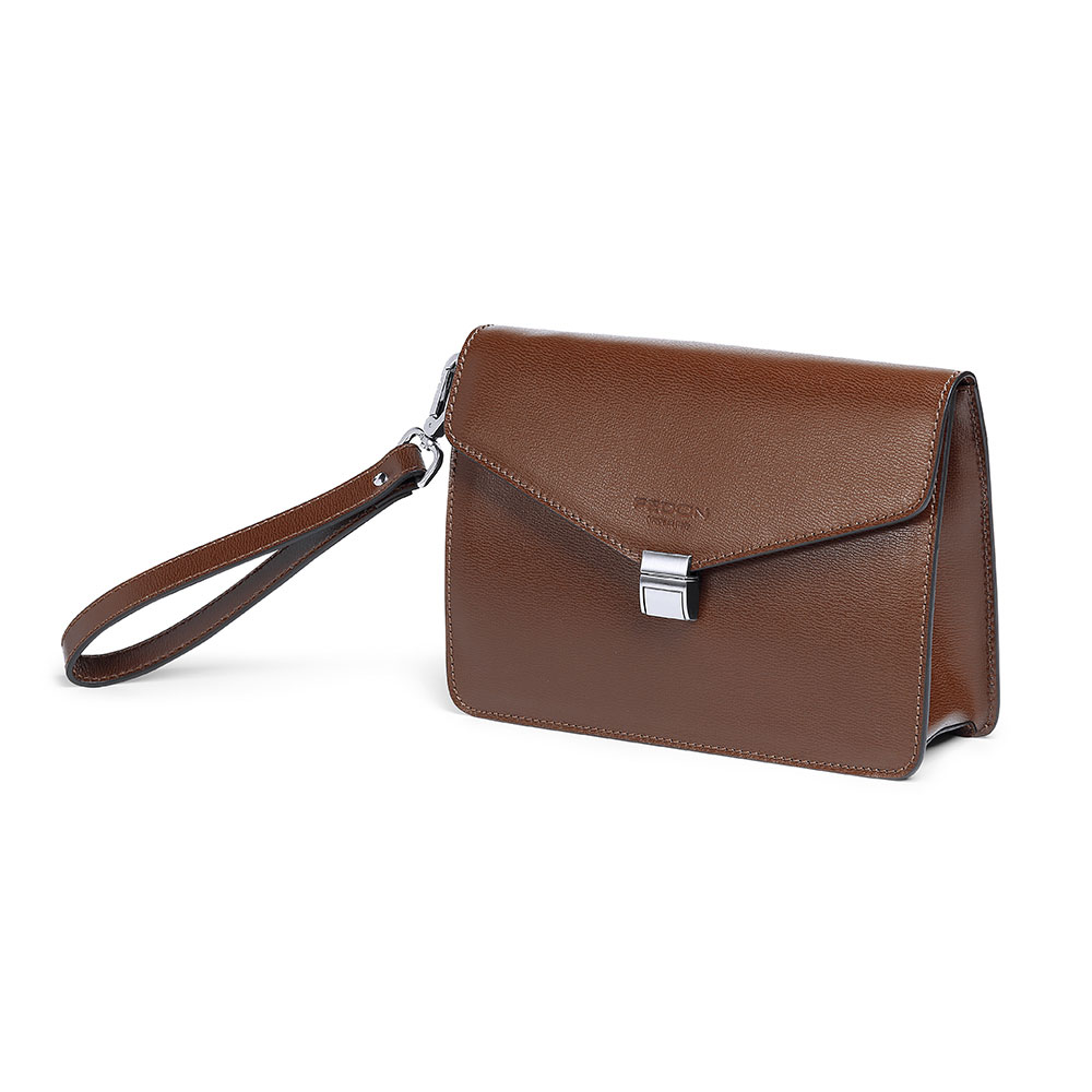 Fedon 1919 CLASS-CLUTCH-TUC Mens Leather Handbag