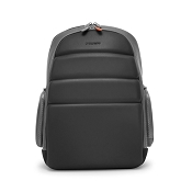 Fedon 1919 Ninja Plus Grey/Black Leather Laptop Backpack