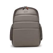 Fedon 1919 Ninja Plus Taupe/Brown Leather Laptop Backpack