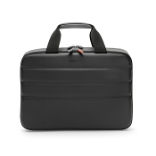 Fedon 1919 Ninja Plus FILE-2 Grey/Black Leather Laptop Bag