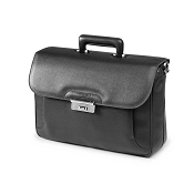 Fedon 1919 Orion OR-BRIEF-1 Leather Briefcase - Dark Grey