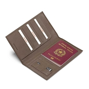 Fedon 1919 Spicy TRAVELDOC-SMALL Leather Travel Wallet