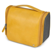 c40e1e0f253c Fedon 1919 Spicy TOIL-BEAUTY Yellow Leather Hanging Travel Toiletry Bag