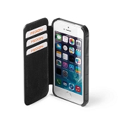 Fedon 1919 P-iPhone-5S Credit Card Flap Leather Case