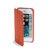 Fedon 1919 P-iPhone-5S Flap Croco Leather Case