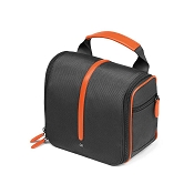 dd1fa1a45cc0 Fedon 1919 Travel WEB-BEAUTY Leather Hanging Toiletry Bag - Orange Grey