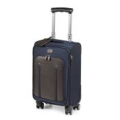 Fedon 1919 Travel WEB-TROLLEY-S Carry-On Suitcase - Brown/Blue