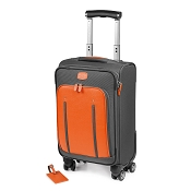 Fedon 1919 Travel WEB-TROLLEY-S Carry-On Suitcase - Orange/Grey