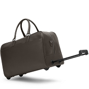 Fedon 1919 TRAVEL-TR-BAG Brown Leather Travel Bag