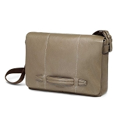 Fedon 1919 Venezia VE-MESSENGER-2 Taupe Soft Leather Shoulder Bag