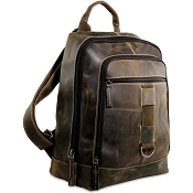 Jack Georges Arizona Leather Laptop Backpack #A4516