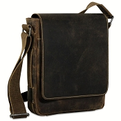 Jack Georges Arizona Leather Crossbody Messenger Bag #A4542