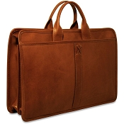 Jack Georges Belmont Professional Leather Briefcase #B2202
