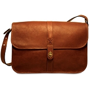 Jack Georges Belmont Leather Messenger Bag #B2525