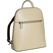 Jack Georges Chelsea Angela Small Taupe Leather Backpack #5835